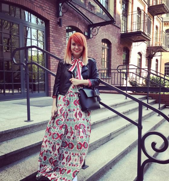 Maxi sukienka na wiosnę