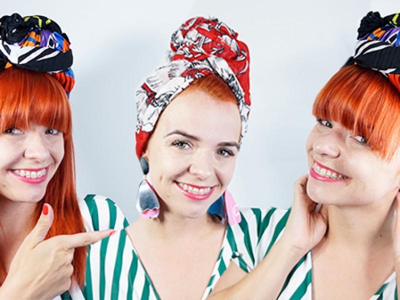 Jak zrobić turban z chusty? Tutorial DIY