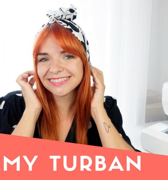 DIY: Szyjemy turban dla mamy i córki