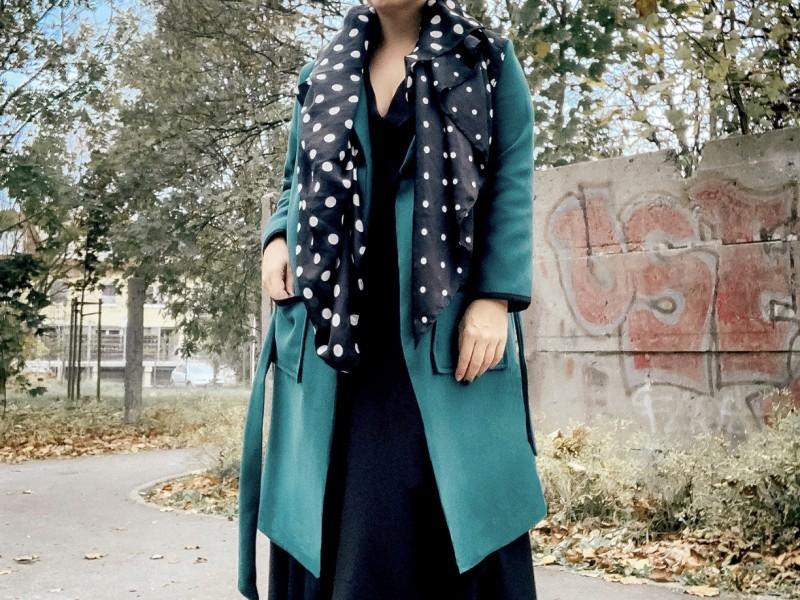 DIY: Jak uszyć płaszcz – wykrój od Złoty Krój