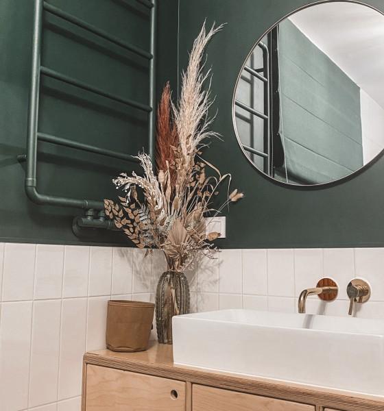 Moje łazienki w nowym domu – home tour